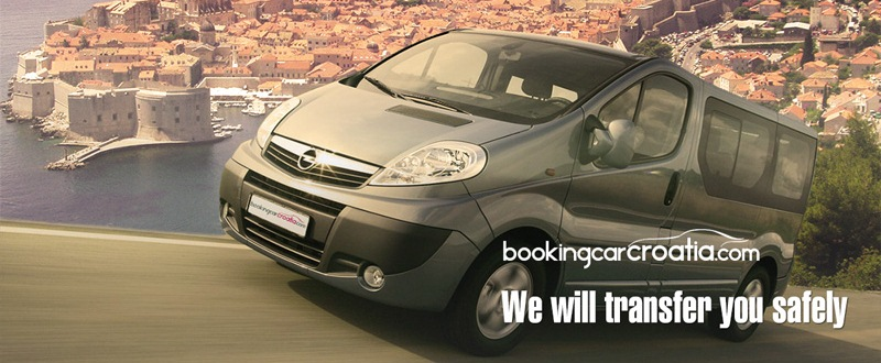 Booking car transfer in Croatia